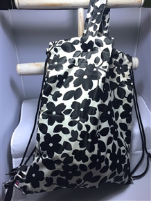 2-Way Bag / Backpack - Black Sakura