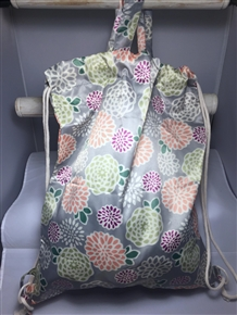 2-Way Bag / Backpack - Hydrangea