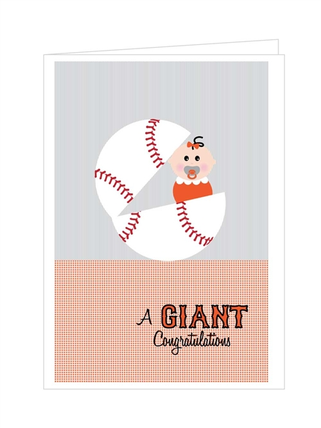 GIANT Congratulations - Girl