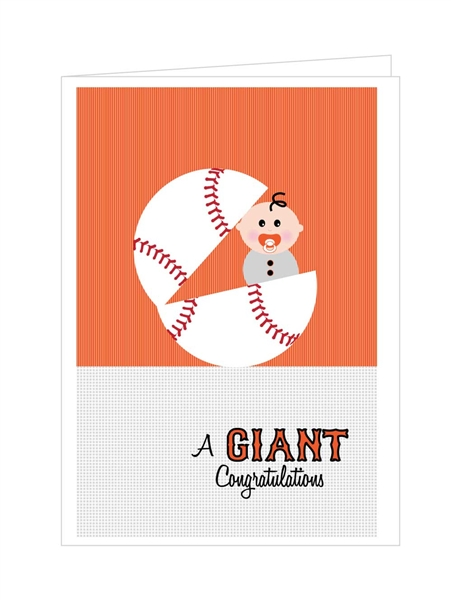 GIANT Congratulations - Boy