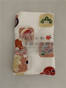 Japanese Year of the Rat Towel (Pink) 2020